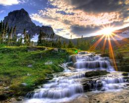 Dreamy Waterfall Hd Wallpaper | Wallpaper List 356