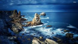 Rocky ocean shore wallpaperNature wallpapers#38303 880