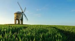 Windmill Green Grass Fields1222x673 iWallHDWallpaper HD 1588