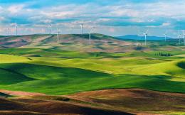 green fields, wind turbines Wallpaper | 1440x900 resolution wallpaper 1587