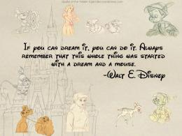 wallpaper quotes: Motivational Wallpaper Dream Dream Walt Disney 1568