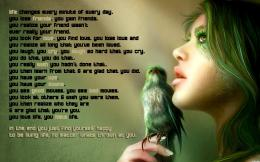 Life Quotes girls birds quotes life magazine wallpaper 684
