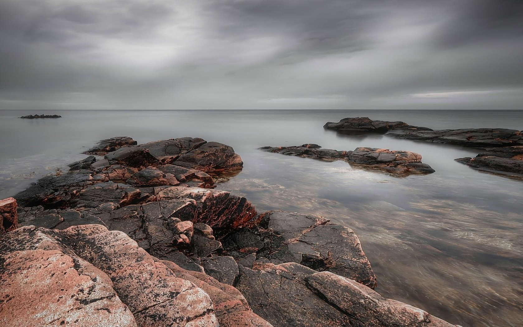 download pastel rocky shore wallpaper in nature wallpapers with all 1932