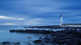 Beautiful lighthouse on a rocky shore HQ WALLPAPER#107922 1327