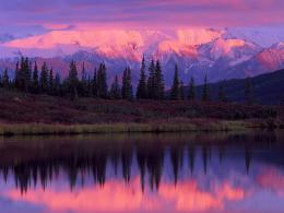 Wonder Lake And Alaska Range At Sunset Denali National Park Alaska 1405