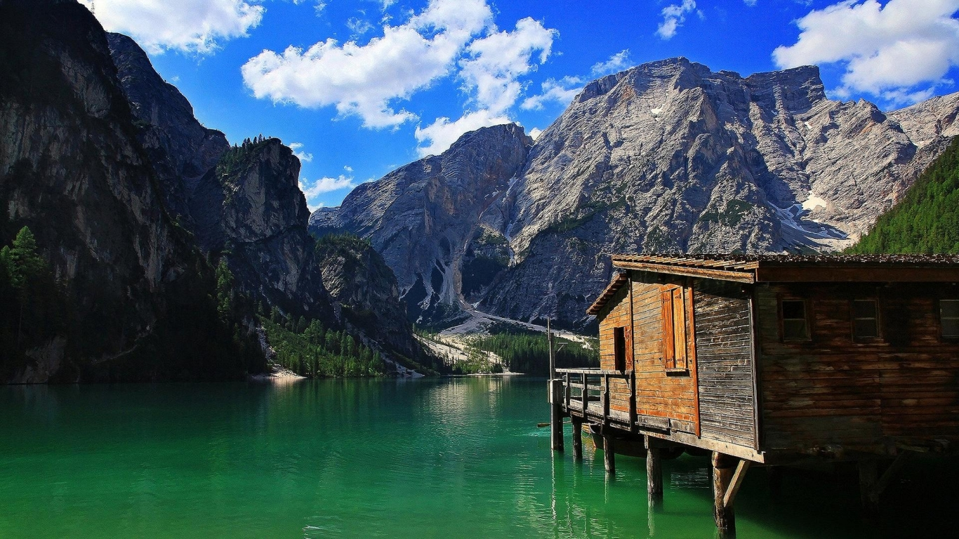 Download Wondrous lake house wallpaper in Nature wallpapers with all 1604