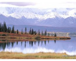 Mount Tundra and Wonder Lake, Denali National Park, Alaska Wallpaper 646