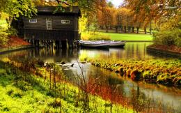 Wooden Lake House wallpaperNature wallpapers#2706 574
