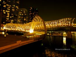 Walking along Yarra River, Melbourne at night | xceptionalbeauty 1457