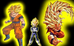 Dragon Ball Z Wallpapers, Wallpaper, Backgrounds, black and yellow 657
