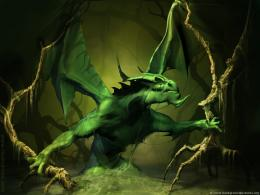 Super awesome green dragon artworks and wallpapers | #1 Design Utopia 611
