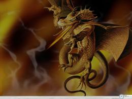 fire wallpaper dragon and lots of flames and fire wallpaper 1077