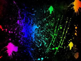 SplatterNeon Colors Rock Wallpaper18995953Fanpop 912