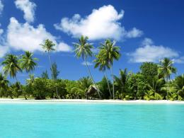 Pc Wallpaper Tropical Beaches Nature White Sand Paradise Retreat 447