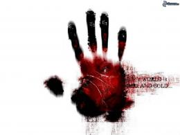 Bloody Hand Wallpaper Bloody hand 533