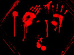 Bloody Handprint Wallpaper Bloody handprints or something 1050