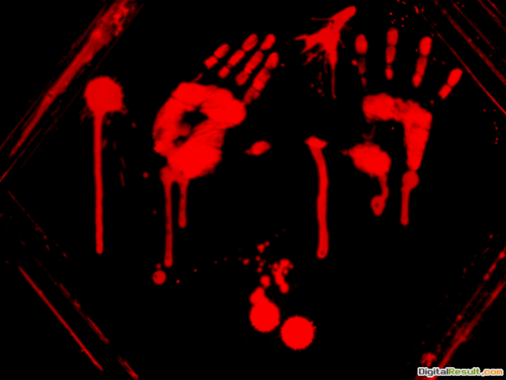 12 Bloody Handprint Wallpaper Bloody handprints or something