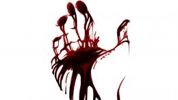 Bloody handprint wallpapers and images 1196