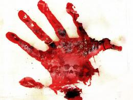 Bloody Handprint Related Keywords & SuggestionsBloody Handprint 1332