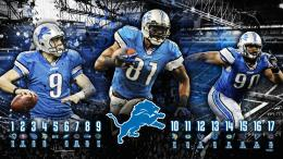 Detroit Lions HD Wallpaper2012 Schedule by madeofglass13 on 1821