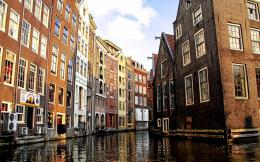 Amsterdam Canal In Venice Hd Wallpaper | Wallpaper List 1740