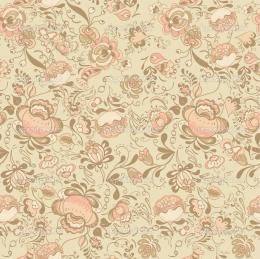 endless texture with flowers in vintage styleWallpaper, background 736