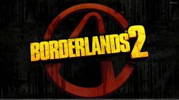 Borderlands 2 Logo On Black Background 1977