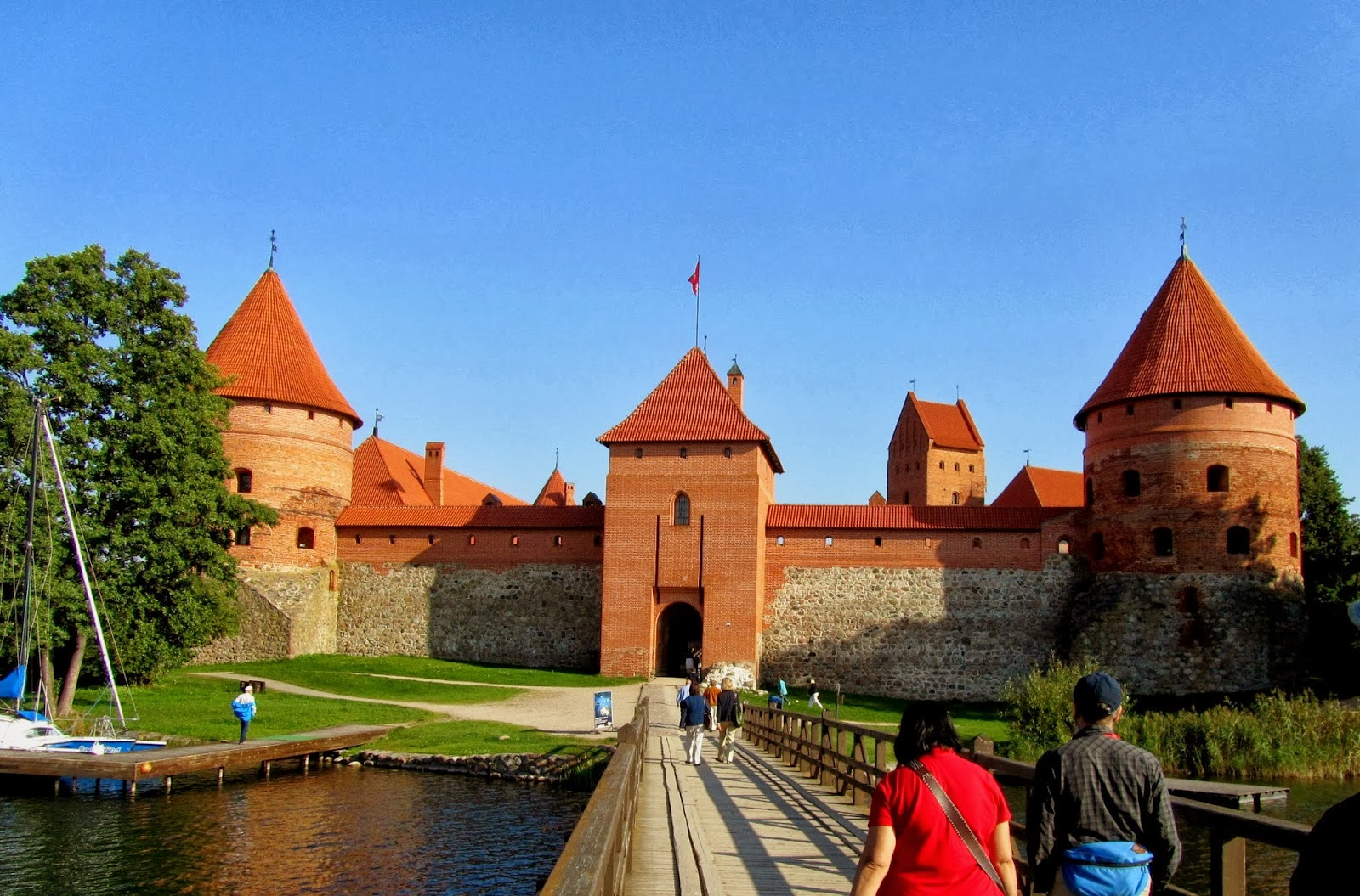 Pritam Rohila Travels: 2012, SEPTEMBER 12: LITHUANIA, TRAKAI CASTLE 526