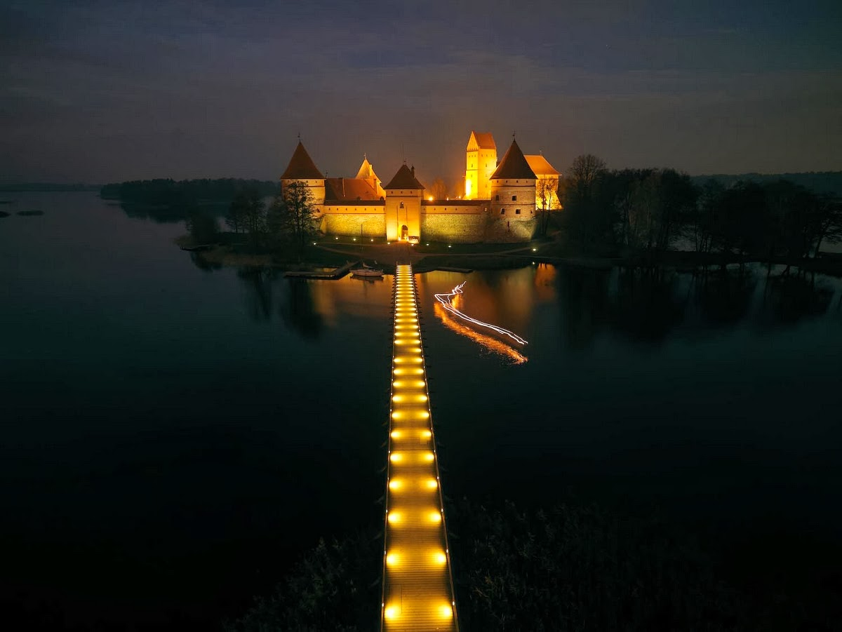 Beautiful Eastern Europe: Trakai castle Lithuania 1781