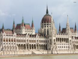 The Hungarian Parliament Building wallpaperWorld wallpapers#2432 354