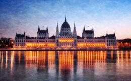 Hungarian Parliament Building wallpaperWorld wallpapers#42541 474