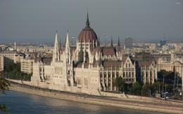 Hungarian Parliament Building wallpaperWorld wallpapers#12343 1487