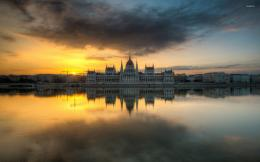 Hungarian Parliament Building wallpaperWorld wallpapers#25843 927