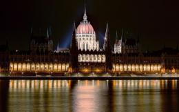 Hungarian Parliament Building Budapest City photography wallpaper 1432