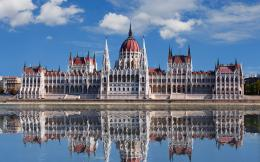 Man MadeHungarian Parliament Building Budapest Hungary Wallpaper 1151
