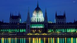 Hungarian Parliament Building wallpaperWorld wallpapers#10469 1347