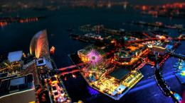 city carnival in tilt shift wallpaper in city world wallpapers 1309