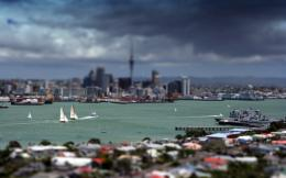 Tilt shift view city Wallpapers Pictures Photos Images 1159