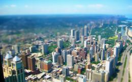 Architecture buildings city tilt shift wallpaper | 2560x1600 | 49129 671