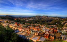 Beauitiful City San Francisco Tilt Shift Photography | HD Wallpapers 743