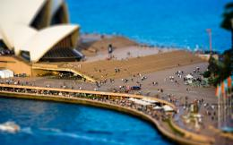 Download Sydney Tilt shift Wallpaper 1440x900 | Wallpoper #295549 1977