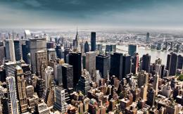 New York City Tilt Shift Wallpaper « Wallpaperz CO 864