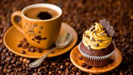 beautiful morning with cupcake cream & cup coffee facebook photo 1901