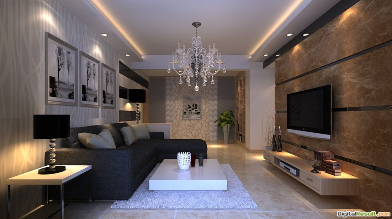 living room : Living Room Ceiling Light Fixture With Natural Stone 587