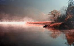 Morning Mist On The Lake Wallpaper HDWidescreen, 1080p Background 625