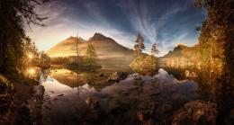 Early morning at Lake HinterseeBavaria, Germany 1298