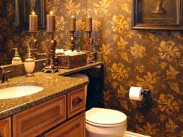 Make a Statement in Your Powder Room | Bathroom Ideas & Designs | HGTV 246