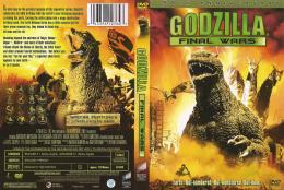 "DVD cover for ""Godzilla: Final Wars\""\""Godzilla: Final Wars\"" is a 2004 1652"