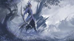 Guild Wars 2 fantasy art ranger weapons archer bow warriors wallpaper 558