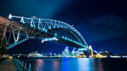Magnificent Sydney Harbor bridge wallpaper in CityWorld wallpapers 1921